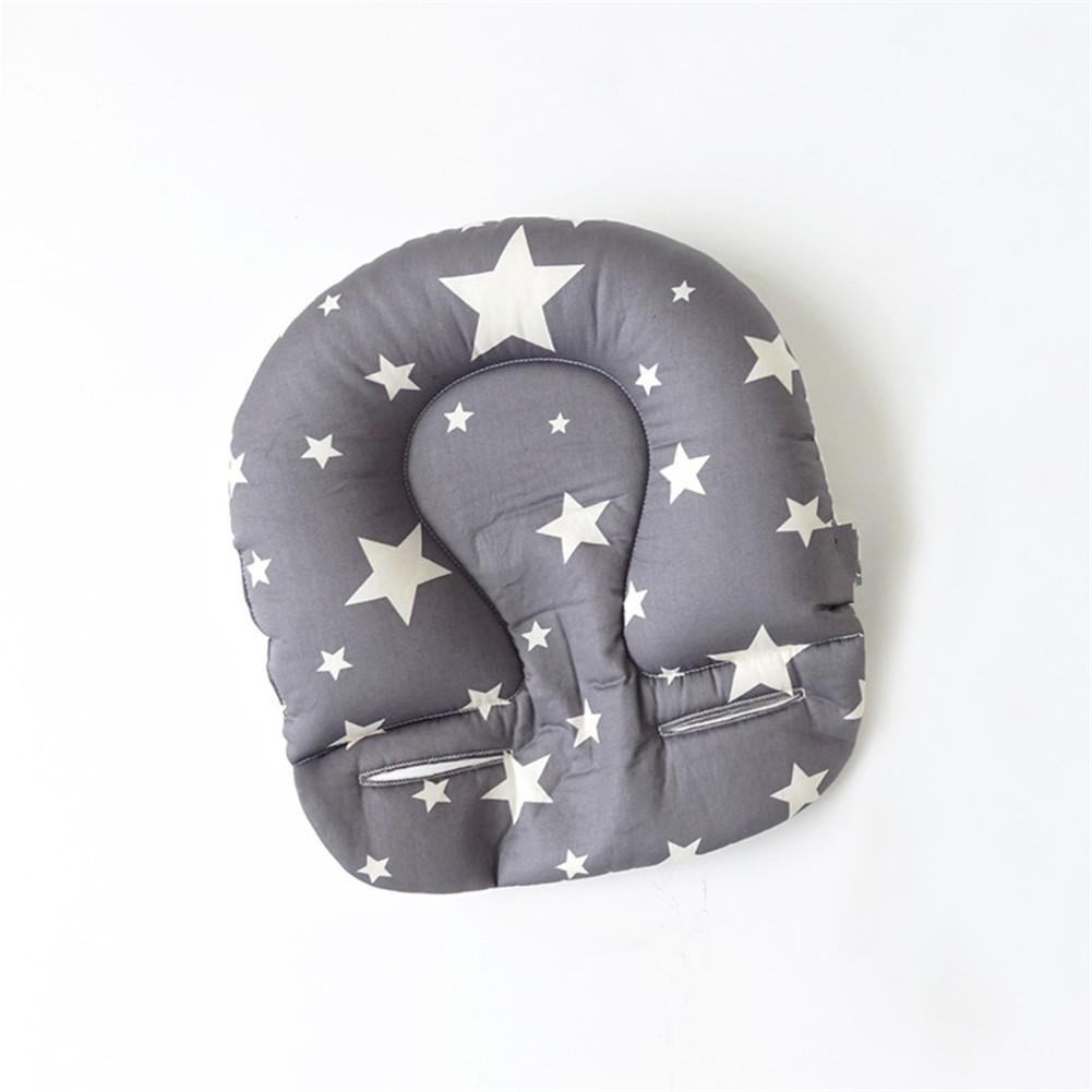 Infant Newborn Anti Flat Baby Pillow Head Syndrome For Crib Cot Bed Soft Velvet