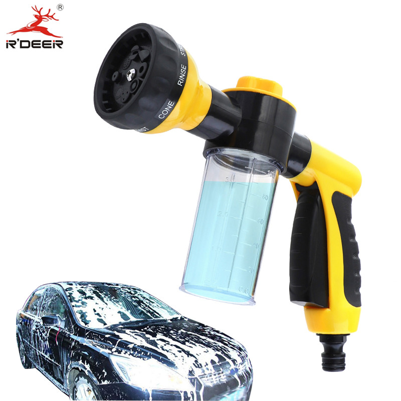 Foam Water Gun Plastic High Pressure Car Washer 100ml Large Capacity Foam Sprayer For Car Wash Garden Cleaning Tool