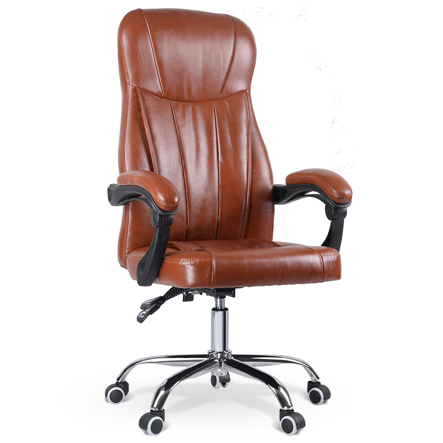 online get cheap modern leather office chair aliexpresscom  - fashion modern design office chair soft thickening cushion backrest homeoffice computer chair leisure lifting lying
