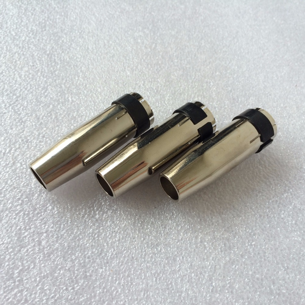 23 24 Binzel Nozzle 145.0128 Tapered Nozzle 10mm For MIG Gun Torch