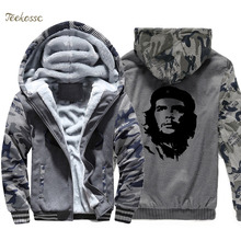 New Arrival Hoodie Men Printed Hooded Sweatshirt Coat 2018 Winter Brand Fleece Thick High Quality Graphics Design Jacket 4XL