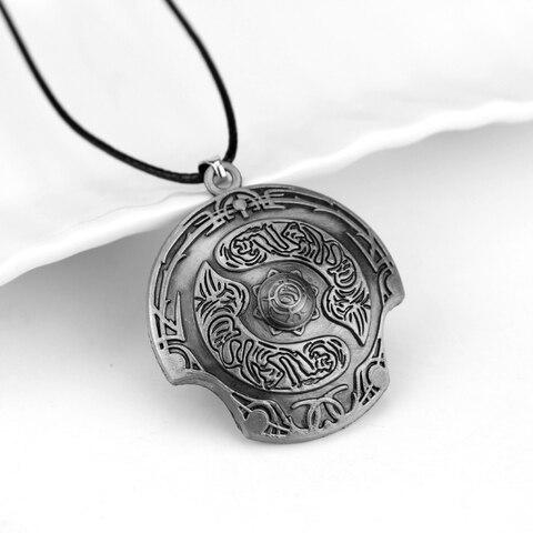 Defense of the Ancients DOTA 2 Aegis of Champion Necklace Immortal Champion Shield Pendant Multan