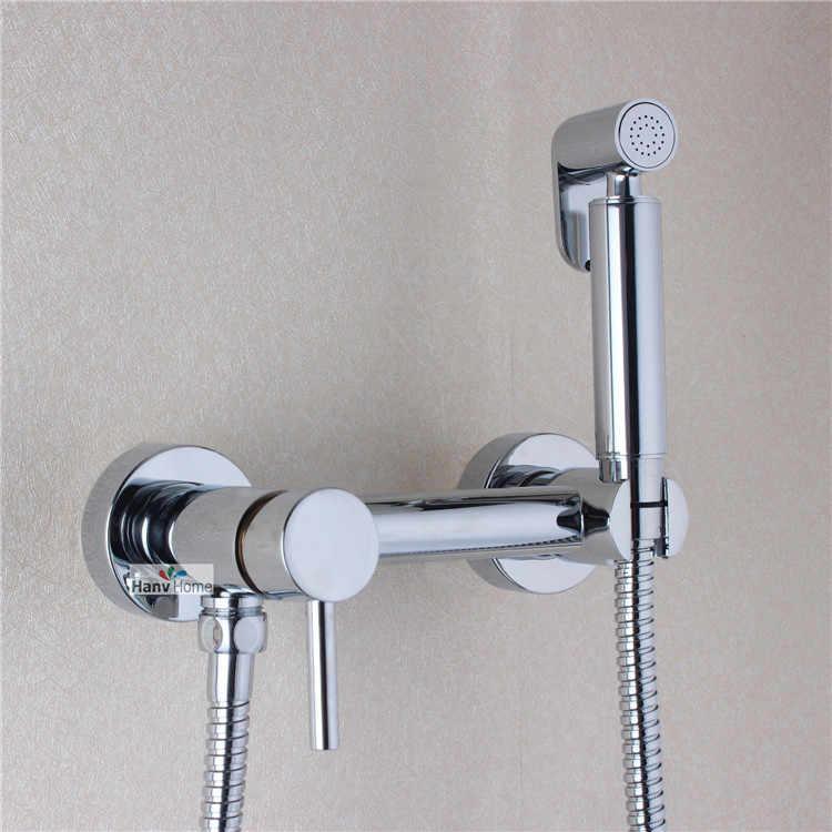 Aodeyi Brass Toilet Handheld Bidet Spray Shattaf Hot Cold Water Valve Mixer With Holder Hose Sprayer Jet Tap Douche Kit Handheld Bidet Spray Handheld Bidetbidet Shattaf Aliexpress