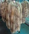 Bufanda de piel de mapache Real cuello de piel 100% genuina 70 cm de invierno para hombres de las mujeres ropa de cuello vendedor caliente usado