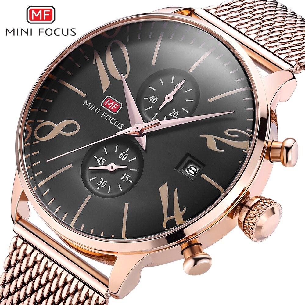 MINI FOCUS Wrist Watch Men Top Brand Luxury Famous Male Clock Quartz Watch Wristwatch Quartz-watch Relogio Masculino стоимость