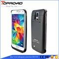 3800 мАч Батареи Клип Чехол Для Samsung Galaxy S5 S 5 i9600 Случаи Мобильного Телефона Power Bank внешнее Зарядное Устройство Резервного Копирования Стенд Откидная Крышка