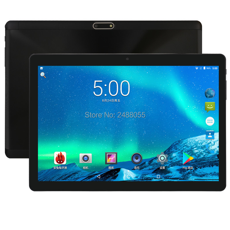 2.5D Glass 10 Inch Android 8.0 Tablets PC Octa Core Dual Sim Card 4G LTE Phone Call GPS Bluetooth 64G ROM 4G RAM Tablet 10 10.1