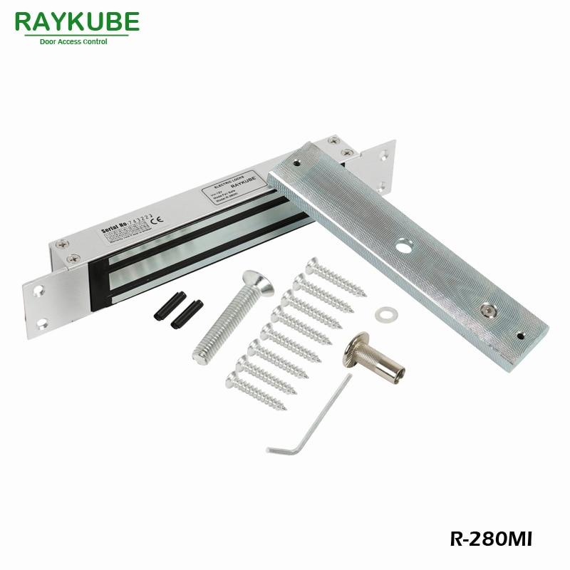 RAYKUBE 280KG (600lbs) Magnetverschluss mit Einsteckschloss für Dooe - Schutz und Sicherheit - Foto 3