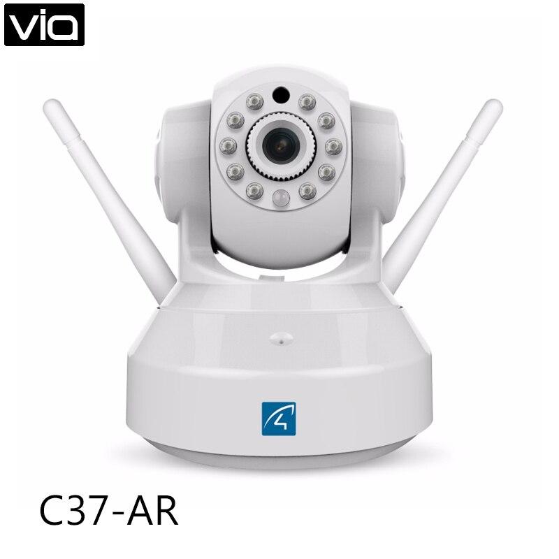 Vstarcam C37-AR Direct Factory 720P Wireless Alarm IP Camera, Dual Antenna, P2P, Pan/Tilt, Two-way Audio npl p 43 37 купить