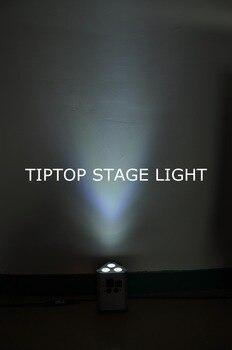 Freeshipping 12 Unità Da Sposa Uplight Super Bright Luce Di Inondazione 3*10W RGBW 4IN1 Fase Par Lattine Pastella A Raggi Infrarossi Interruttore Di Alimentazione Con