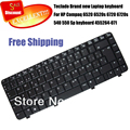 100% Brand NEW Spanish Teclado for HP Compaq 6520 6520s 6720 6720s 540 550 MP-05586E0-930 6037B0023126 Sp keyboard 455264-071