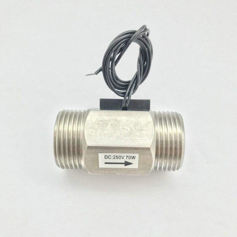 USM-FS10TS Normalmente aperto Circuito Interruttore di Flusso Magnetico 70 w Max di Carico DC250V Max Affidabile BSP G1