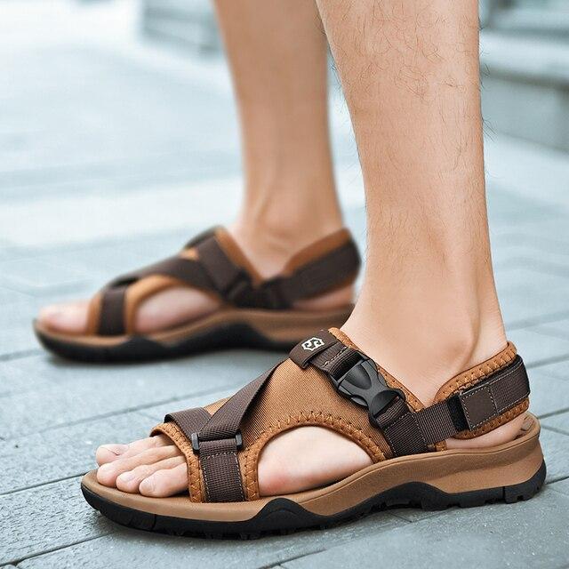 Moda De Romano La Transpirables Casuales Rommedal Caminar Pantuflas Zapatos Calzado Para Zapatillas Estilo Verano Hombres Sandalias Playa 2019 Fuera IEDHW92Y