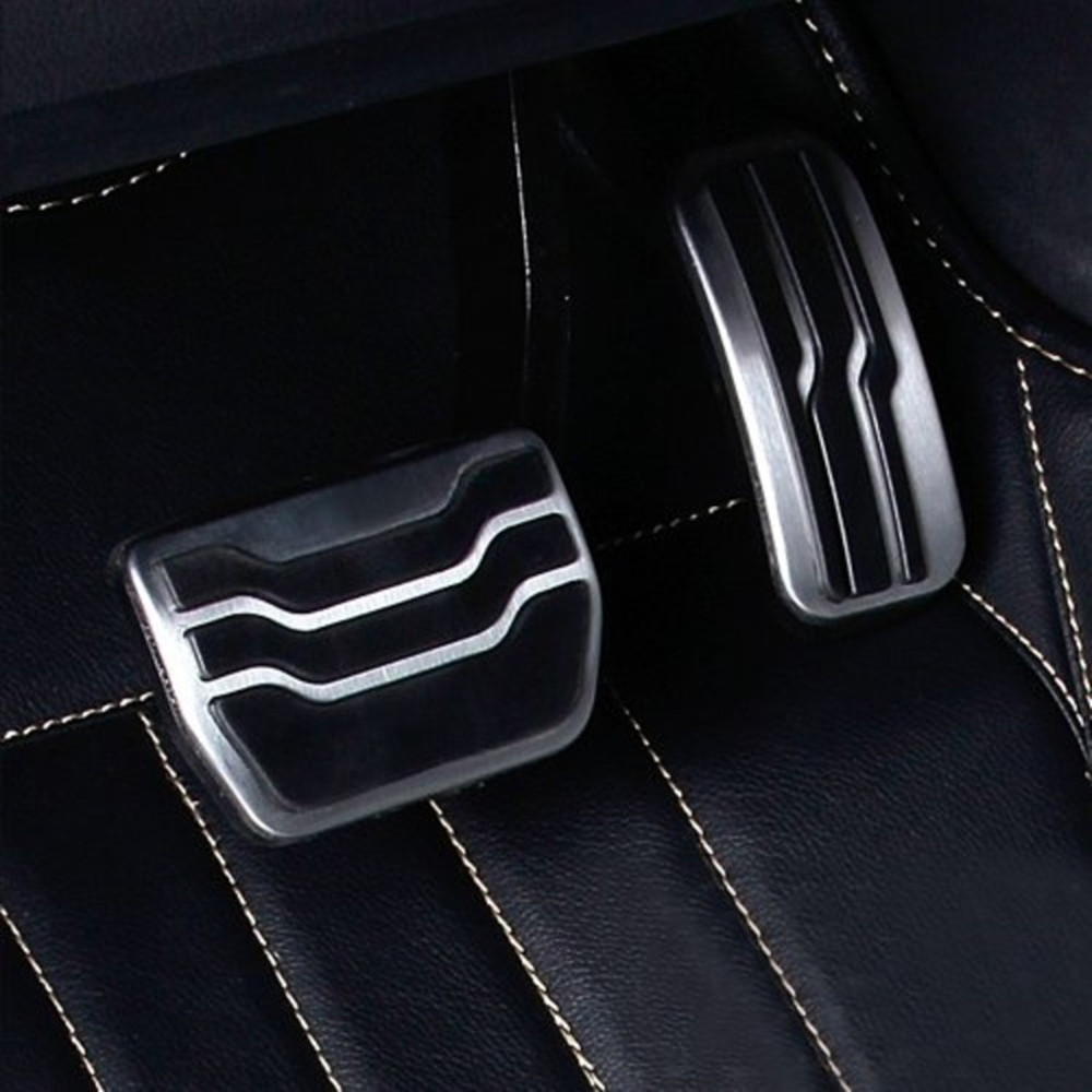 Jameo авто без бурения Нескользящая нержавеющая сталь газ Топливо педали Накладка для Ford Explorer- LHD Автомобильный Стайлинг