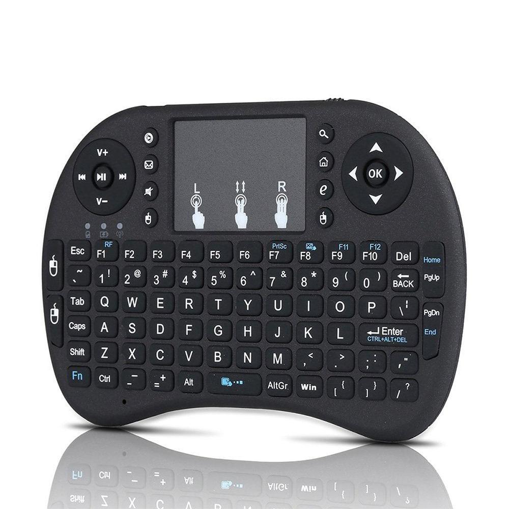 I8 Mini 2.4 Ghz Sans Fil Touchpad Clavier Avec Souris Pour Pc, Pad, Xbox 360, Ps3, Google Android Tv Box, Htpc, Iptv