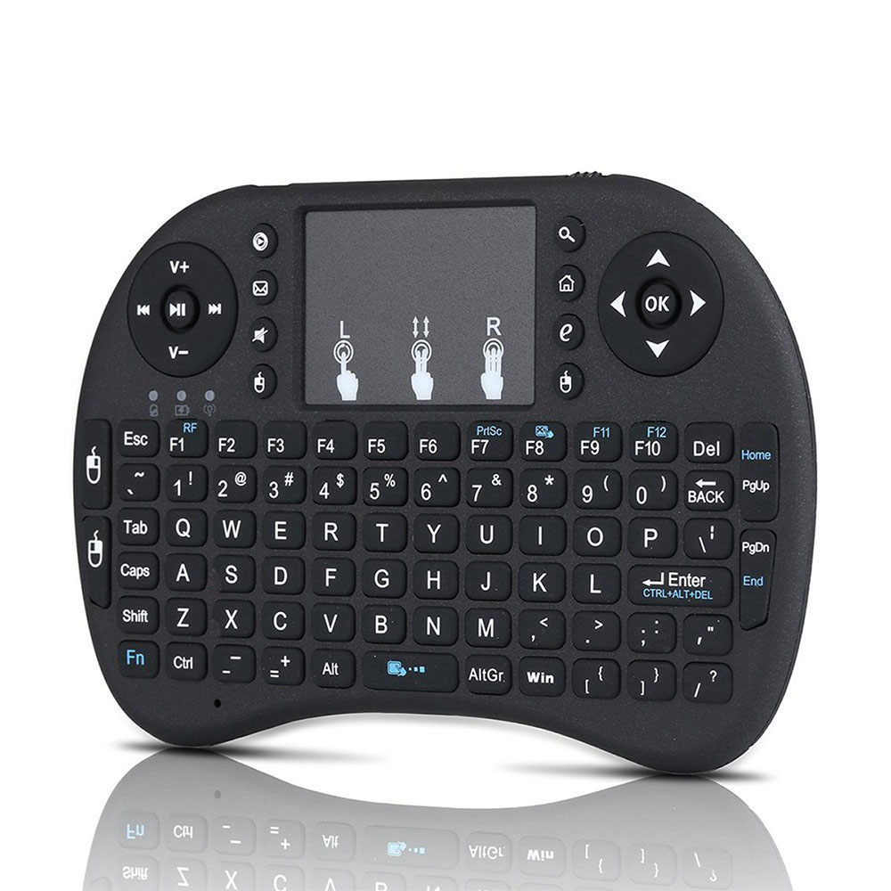 I8 Mini 2.4Ghz Wireless Touchpad Keyboard With Mouse For Pc, Pad, Xbox 360, Ps3, Google Android Tv Box, Htpc, Iptv 2 4g mini wireless keyboard mouse with touchpad for pc android tv htpc