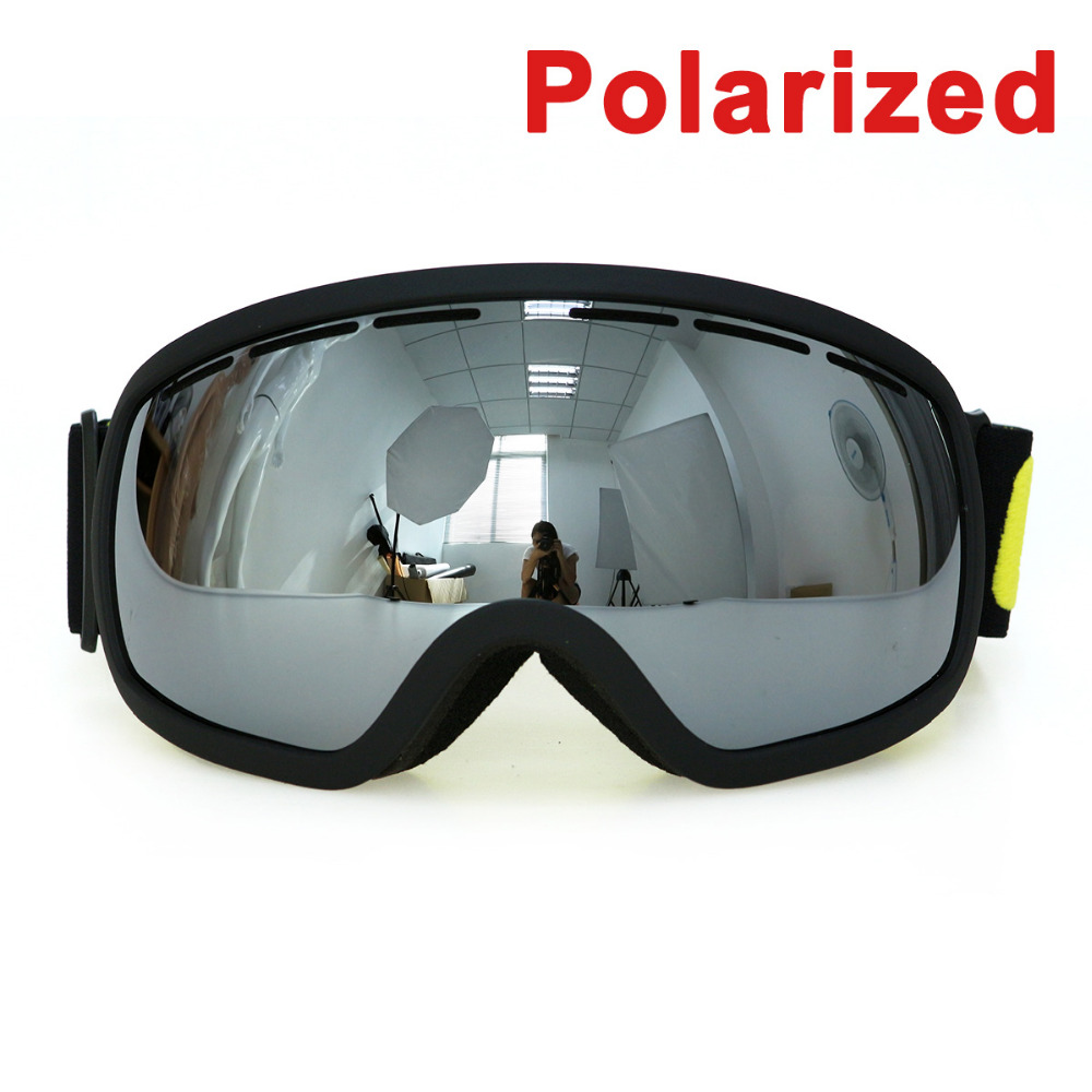 Polarized COPOZZ brand professional ski goggles  UV400 anti-fog glasses skiing men women snowboard goggles GOG-207P власов александр иванович сонеты