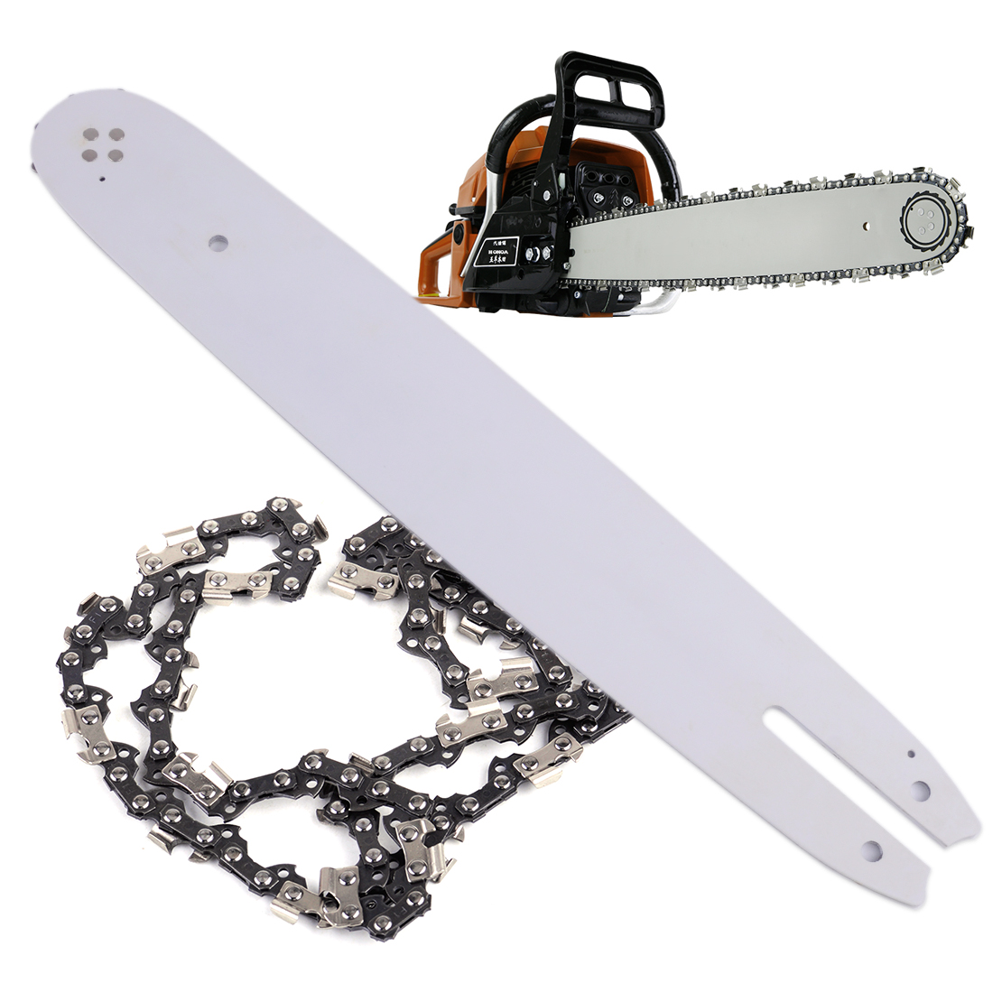 LETAOSK New 14 Chainsaw Guide Bar And Saw Chain Combo 3/8 LP 050 50DL Fit For Stihl MS170 MS180 MS181 MS190 4pcs 20 chainsaw guide bar with saw chain 3 8 72dl 63 for stihl ms290 ms291 310 340 360 361 361c power tools accessories