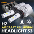 Auxmart S3 H7 LED Car Headlight Bulbs 72W 6500K 8000LM Single beam CSP Fog lamp for Ford Honda Toyota Chevy Nissan Audi Benz BMW