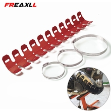 Off-road Motorbike Exhaust Pipe Guard Protector Heat Shield For KTM 250EXC-R 250SX-F 250SX 250XC 250XC-F/XCF-W 400EXC 400XC-W