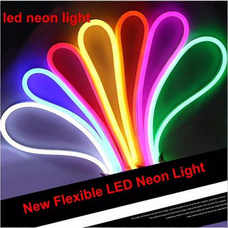 super mini led neon light flexible soft neon led light waterproof ip65 ac110v 220v soft. Black Bedroom Furniture Sets. Home Design Ideas