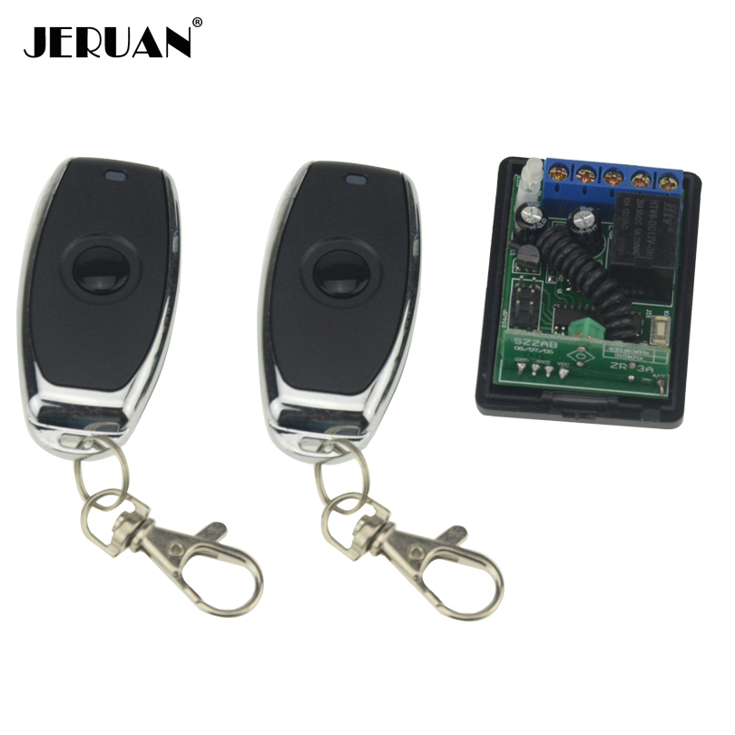 JERUAN Wireless Remote Control Remote Switch For Door Lock Access Control System 1V2 FREE SHIPPING dy8800a combustible gas leak detector gas tester