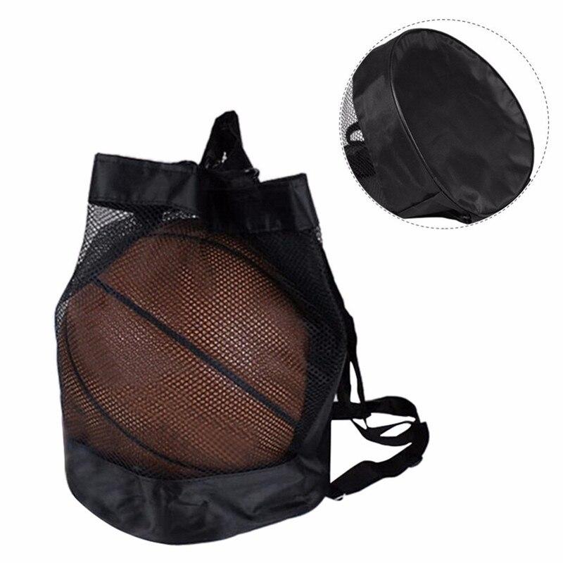Баскетбольный рюкзак из ткани Оксфорд, сумка-мессенджер на плечо, сетчатая баскетбольная сумка для волейбола, футбола-4