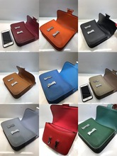free shipping contracted and fashionable joker leather  shoulder crossbody female bag