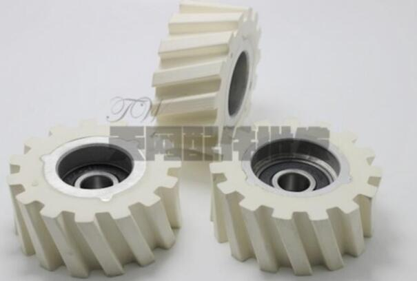 40pcs Nanxing Xiao Feng Yue Li Austrian edge banding machine pressure roller 65 * 12 * 28 woodworking machinery parts-in Tool Parts from Tools    1