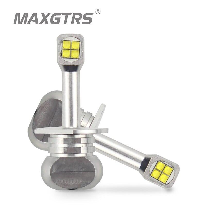 2x H1 H3 880 881 40W CREE LED Chips Bulb Daytime Running Light 6000K White Car Fog Lamps DRL LED Replacement Lights Headlight