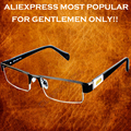 =CLARA VIDA BRAND=MEN UPPER STYLE PU CASE PRESIDENT PACK READING GLASSES BRILLER FRAME+1.0 +1.5 +2.0 +2.5 +3.0 +3.5+4.0