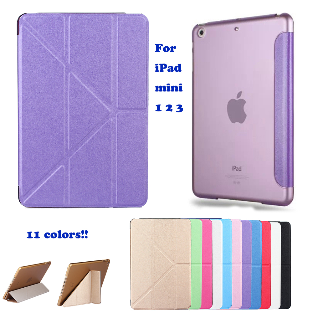 Stand Ultra Thin PU Leather case for Apple ipad mini 1 2 3 Case Colorful Flip Tablet Smart Cover Auto Sleep Wake up magnet stand ultra thin pu leather case for apple ipad mini 1 2 3 case colorful flip tablet smart cover auto sleep wake up magnet