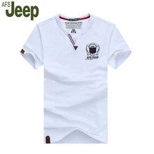 2016 afs jeep battlefield jeep männer kurzarm t-shirt casual fashion v-ausschnitt t-shirt männer kurzarm sommer neue 65