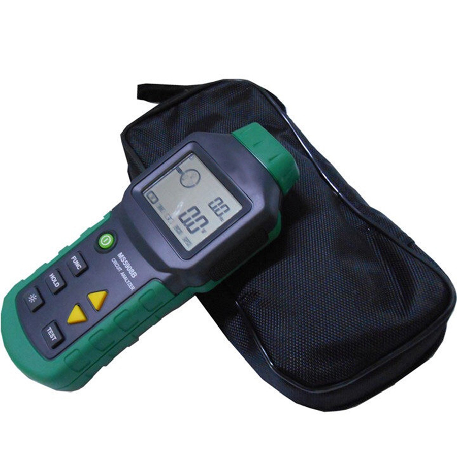 MS5908 Ture RMS Circuit Analyzer Tester Compared w/ IDEAL Sure Test Socket Tester 61-164CN 110V or 220V mastech ms5908 serial rms circuit analyzer tester compared w ideal sure test socket tester ms5908c eu plug