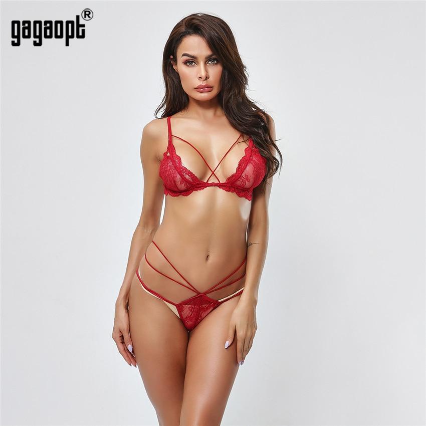 Gagaopt Lace   Bra     Set   Women Fashion Floral Embroidery Sexy Lingerie   Set   (   Bra   + Panties) Ladies Underwear   Set