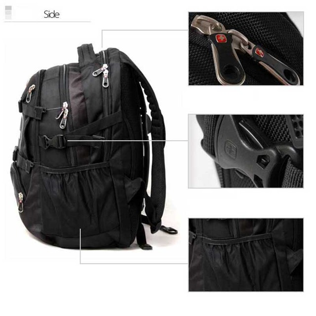 Crossten Swiss Military Army Travel Bags Laptop Backpack 15.6 4
