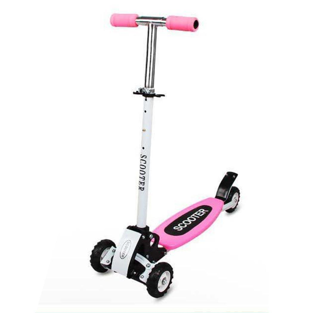 Kick Scooter hauteur réglable meilleurs cadeaux pour 68 cm/72 cm/76 cm enfants 50 kg enfants 2 ~ 8 ans garçons filles