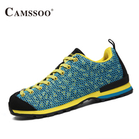 Camssoo Women Classic Walking Shoes Breathable Athletic Sneakers Lace Up Sport Shoes Woman High Quality Training