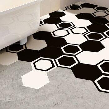 Funlife Floor Stickers Wall Sticker,Black White Modern Tile Decal Home Decor Wall Decor,Anti-slip for Bathroom Kitchen,Removable резак для щеток стеклоочистителей