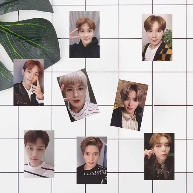 10 шт./компл. KPOP NCT 127 Empathy альбом 2019 Марка автограф Фотокарта бумажные карты плакат