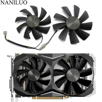 87MM GA92S2H 100MM GTX1070TI Mini 4PIN Cooler fan For ZOTAC GeForce GTX 1080 GTX 1070 Ti Mini GTX 1060 AMP Edition 6GB Card image
