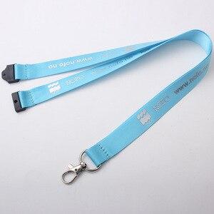 Image 4 - 200 teile/los 2x90 cm nach lanyard, angepasst logo siebdruck lanyard, OEM marke individuelle lanyards für tasten telefon neck strap