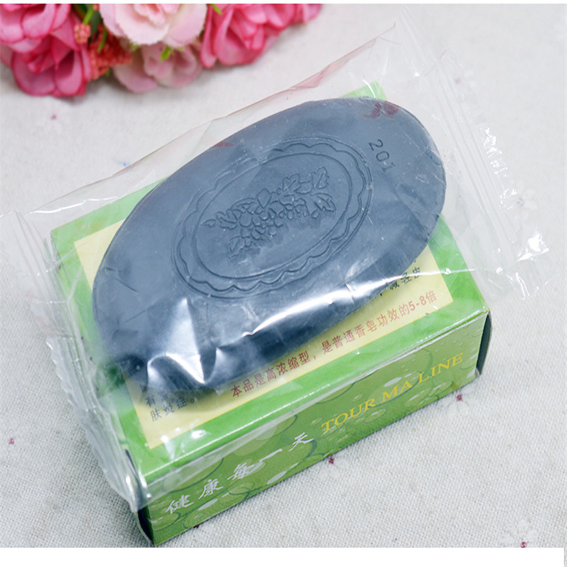 2019 Hotsale Revitalizing Repairing Beauty Facial Cleaning Soap For Face Care Whitening Skin 60g Bamboo Charcoal Soap