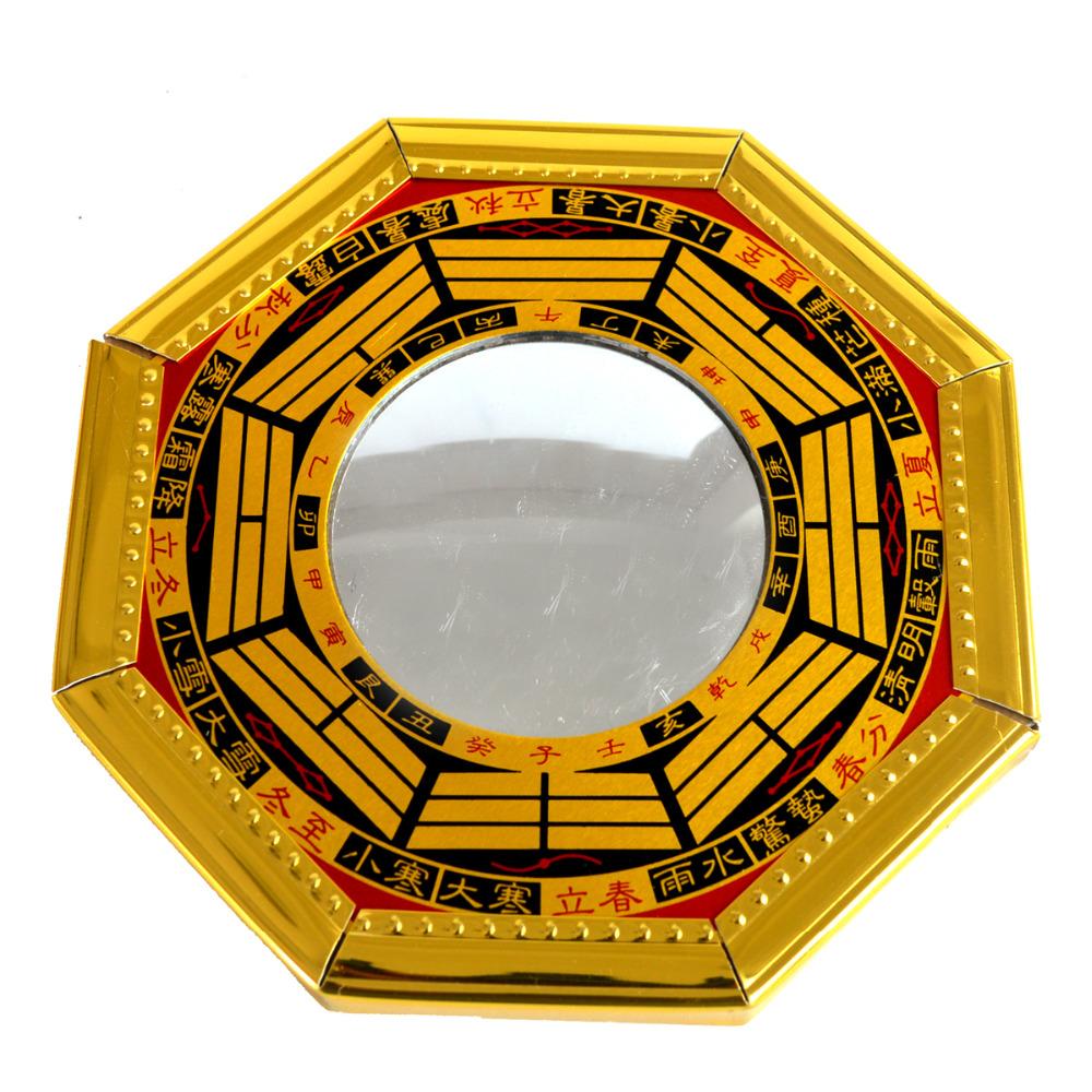 feng shui madera amarilla cncava espejos bagua pakua sku jchina mainland