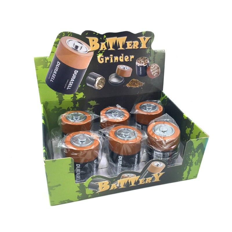 Large battery model Herb Grinder Grinder High quality Smokin