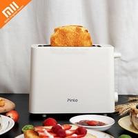 Original Xiaomi Youpin Mini Toaster Reheat Sandwich Toast Bread Baking Maker Machine Non Fried Multi Function Stainless toaster