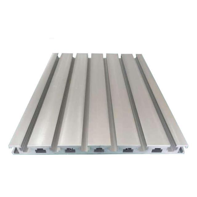 Zaktualizowano T Gniazdo Profile Aluminiowe grawerowanie CNC maszyna akcesoria ZQ52
