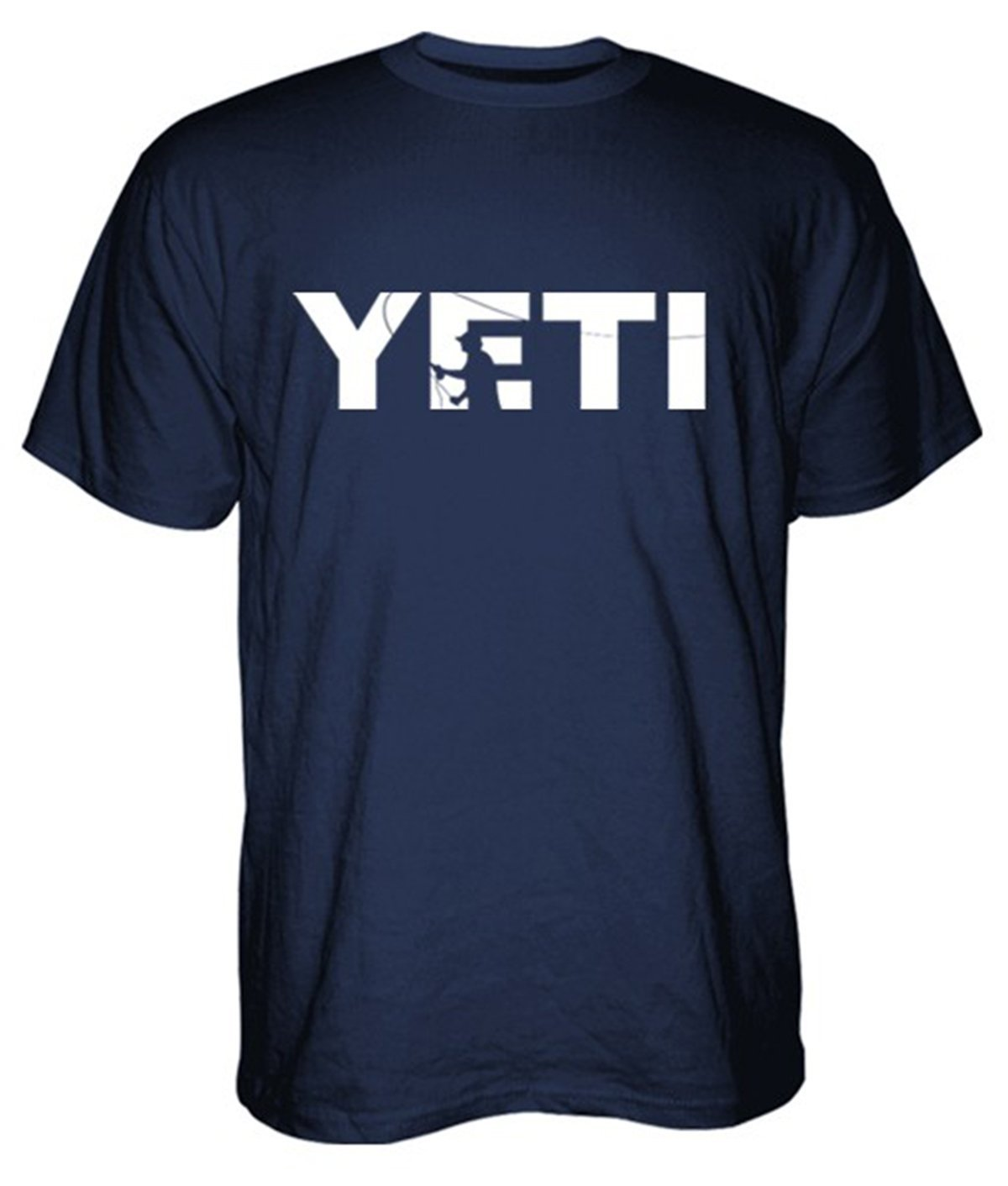 US $12 99 |2018 Top Quality Yeti Coolers Double Haul Casting T Shirt Unisex  Fashion T Shirt Top Tee New T Shirt Men Fashion Plus Size-in T-Shirts from