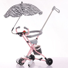 Five-wheeled baby stroller anti-skid baby artifact trolley flash anti-rollover simple lightweight folding three-wheeled trolley stair climbing sack trolley unique wheel designed with carbon steel material 6 wheeled stair climbing folding hand trolley