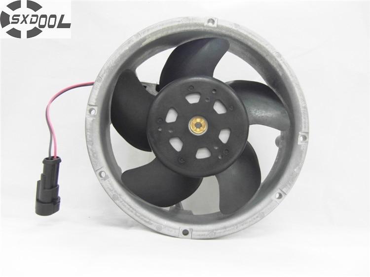 SXDOOL DC 24V cooling fan D1751S24B6CZ-16 blower 1751 24V 1.8A For ABB inverter cooler sxdool 380v cooling fan 12038 12cm 120mm 0 04a double ball bearing server inverter pc case cooling fan